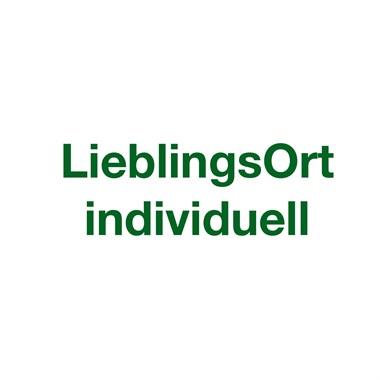 LieblingsOrt - Individuell