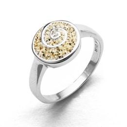 "Ring ""Sandspirale"""