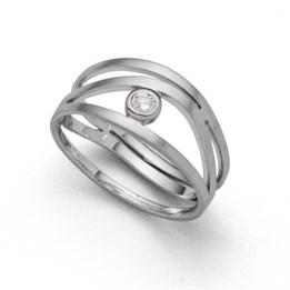 """Ring """"Zirkonia"""""""