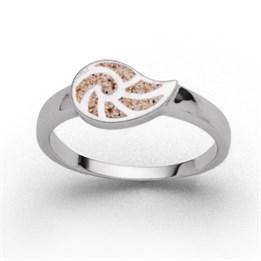 """Ring """"Sandnautilus"""""""