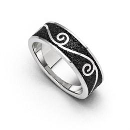 """Ring """"Sanddüne"""" Lavasand"""