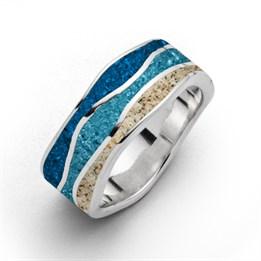 """Ring """"Ebbe & Flut"""" Steinsand"""