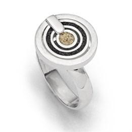 """Ring """"Schwarzer Pirat klein"""""""