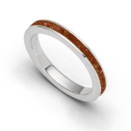 """Ring """"Bernsteinsand"""""""